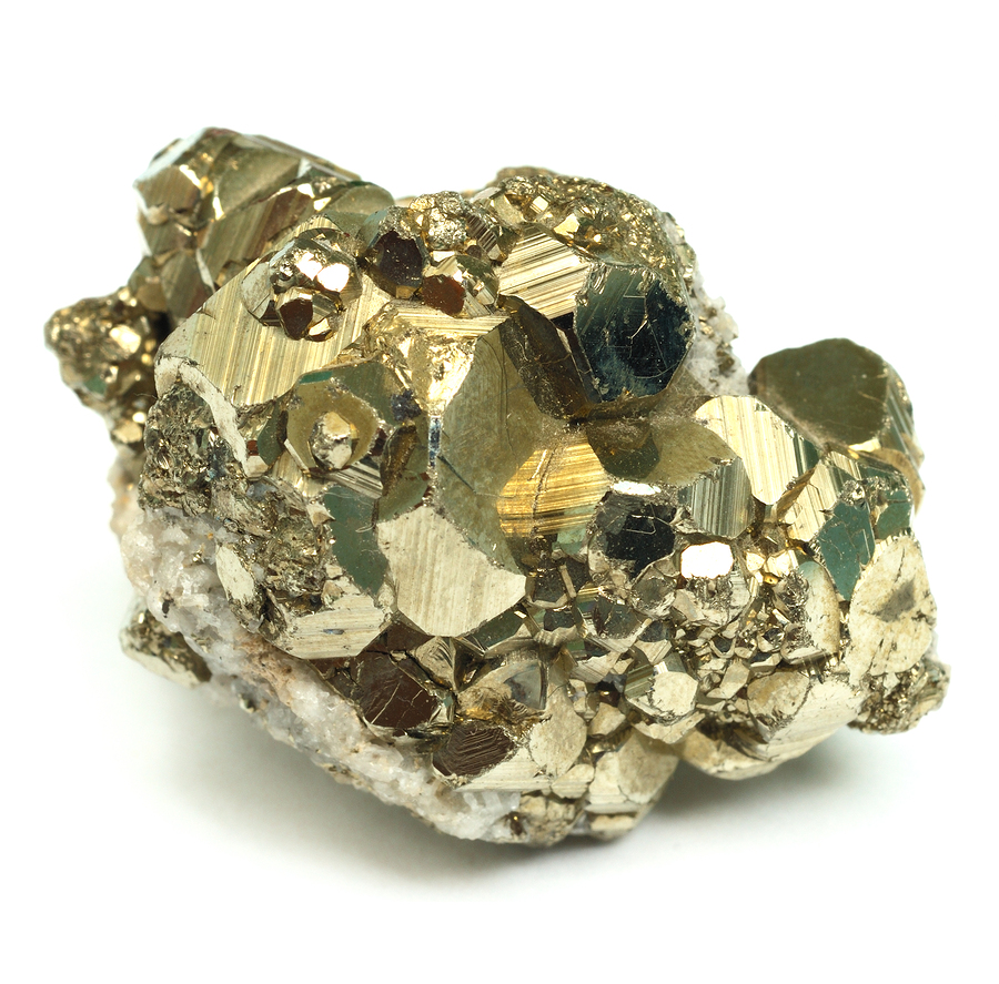 Image of a Pyrite (AKA Fool's Gold) Nugget